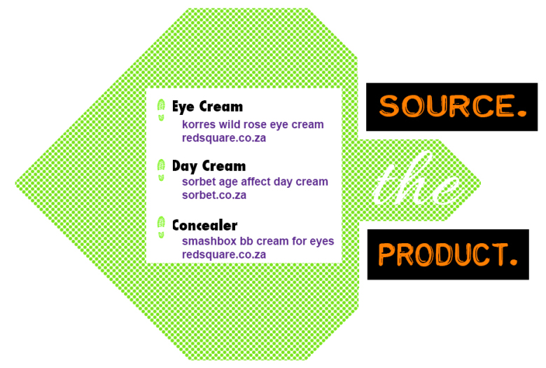 Source the product concealer