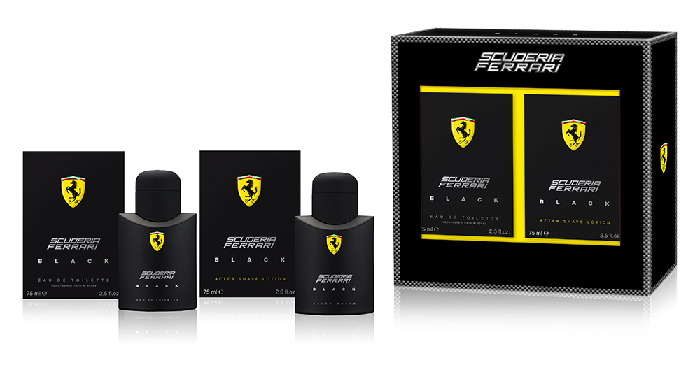 Ferrari Black Gift Set