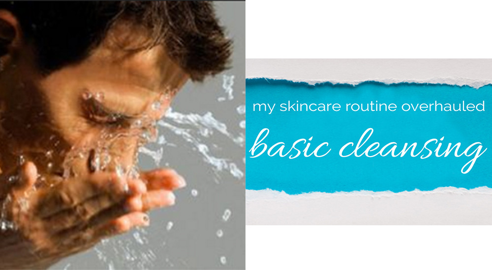 Skincare routine overhaul with Kiehls basic cleansing