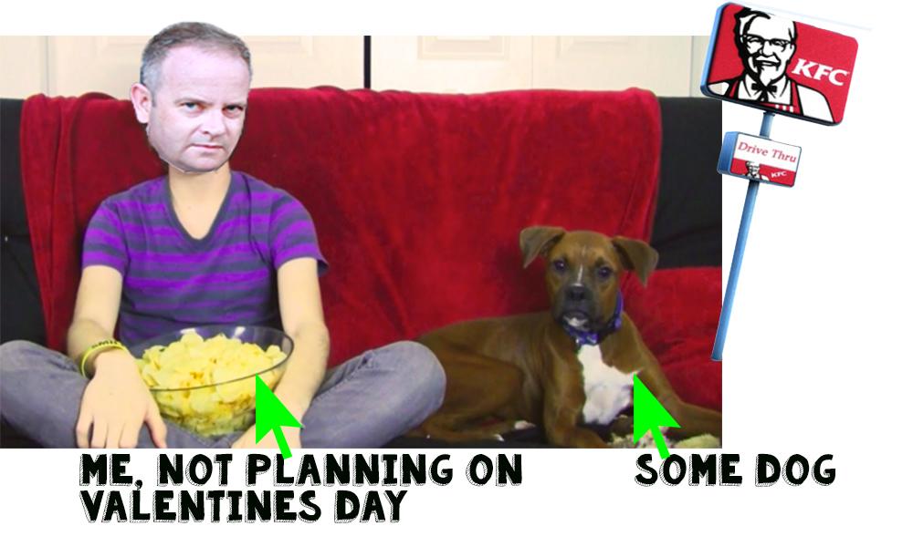 Valentines Day planning and blog post