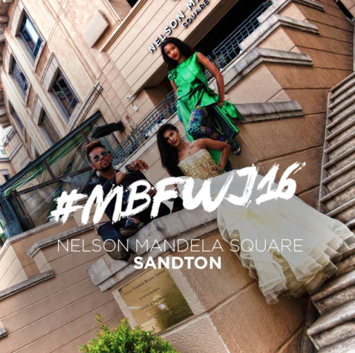 David Tlale shoot at Nelson Mandela Square for MBFWJ 2016