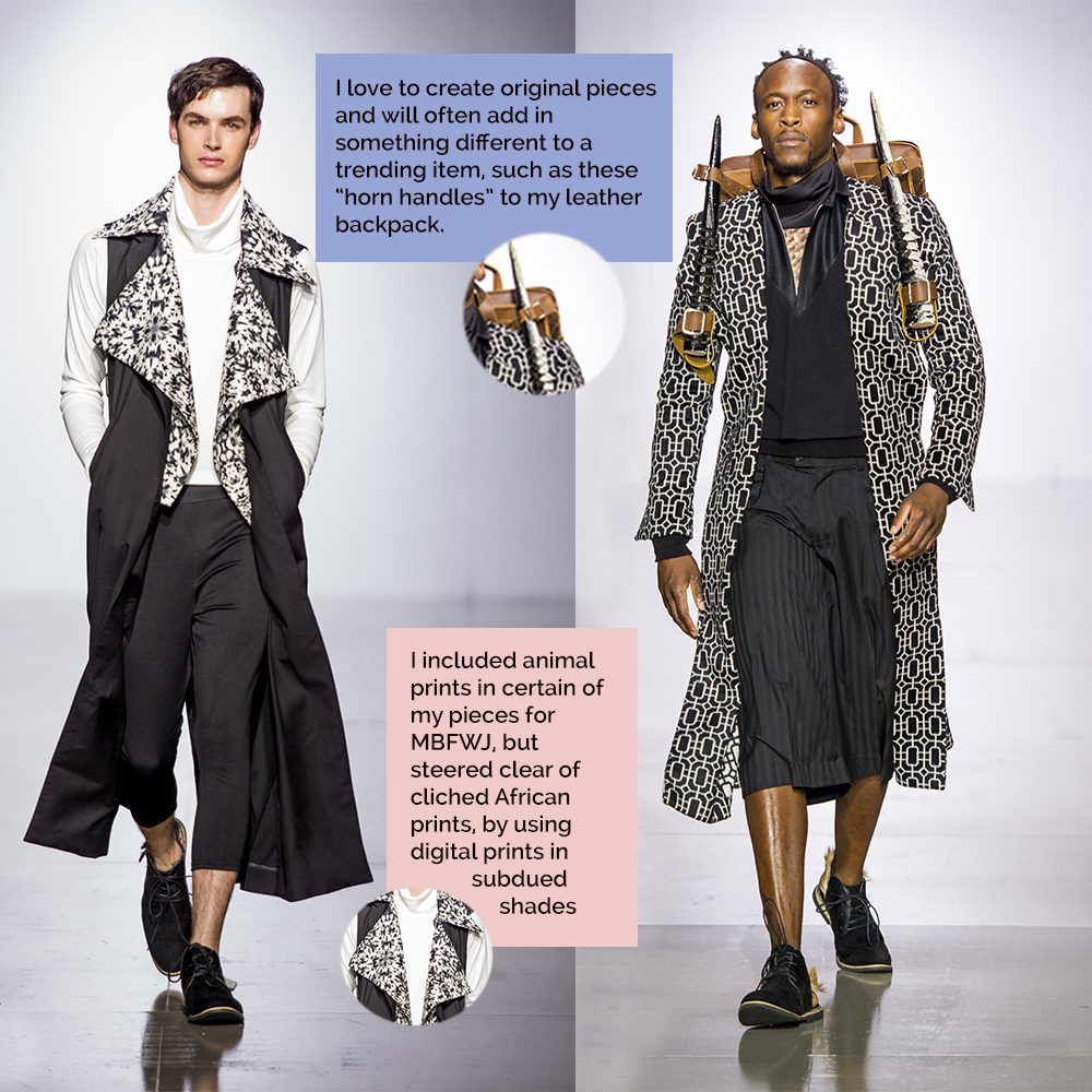 Augustine local trends for Mercedes Benz Fashion Week Joburg