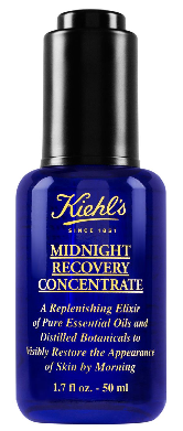Midnight recovery concentrate for men as part of a night time routine