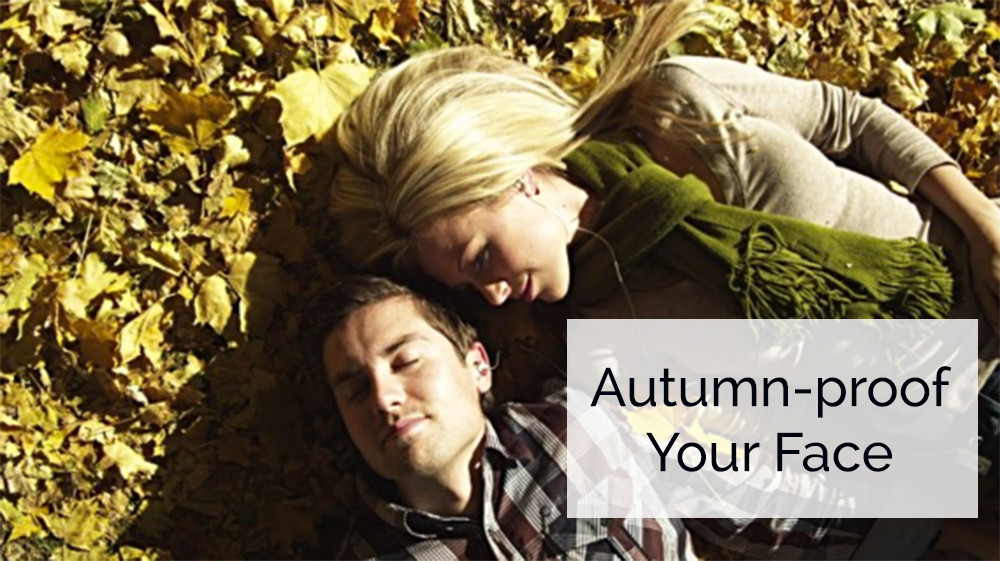 Autumn proof your face for men