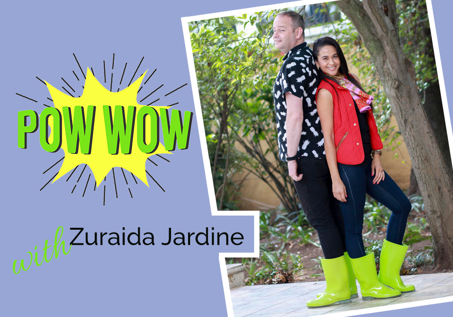 A Pow Wow with Zuraida on My Lime Boots