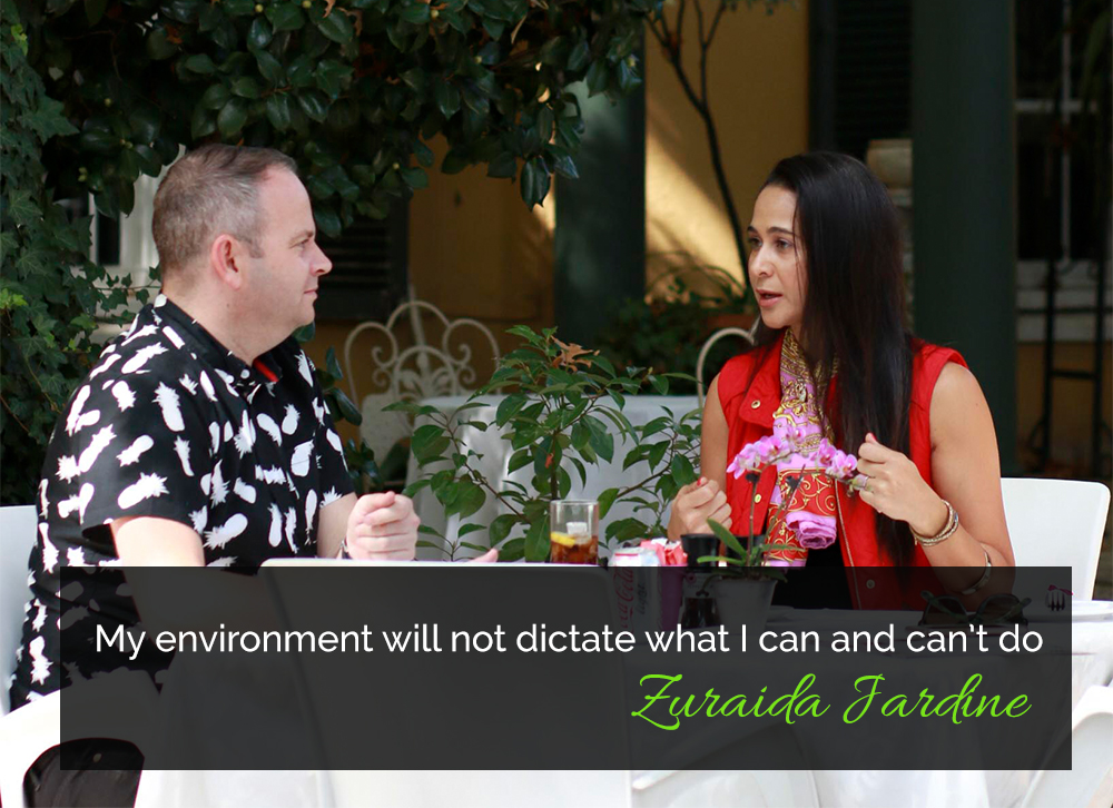 Zuraida Jardine quote 1 for My Lime Boots