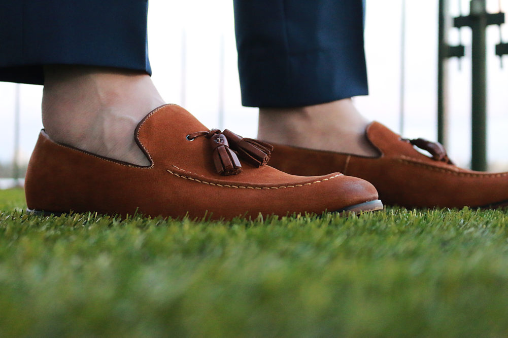 Steve Madden tassel loafers for Durban July