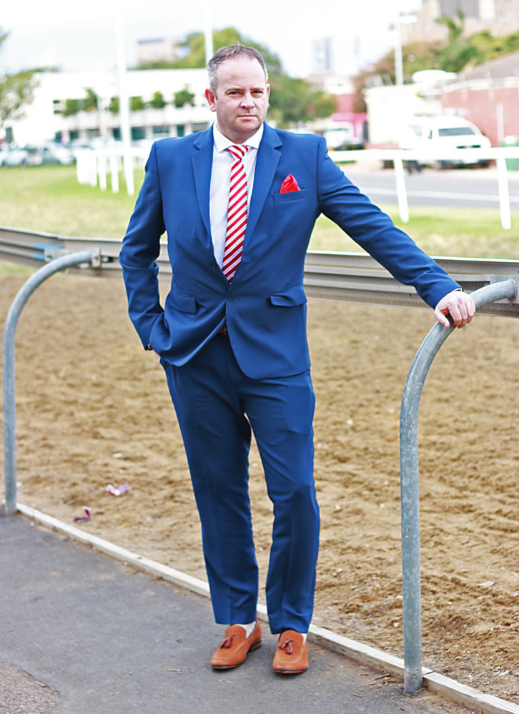 At the Durban July race track for Fashion Look Book