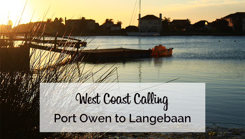 West Coast Calling Port Owen to Langebaan on My Lime Boots