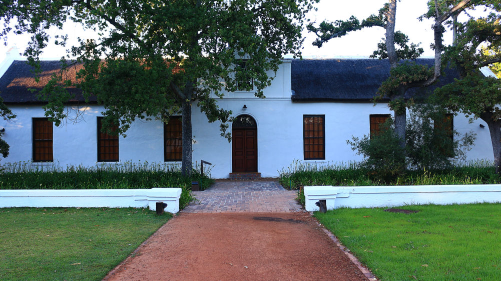 Spier Wine Farm Manor House on My Lime Boots