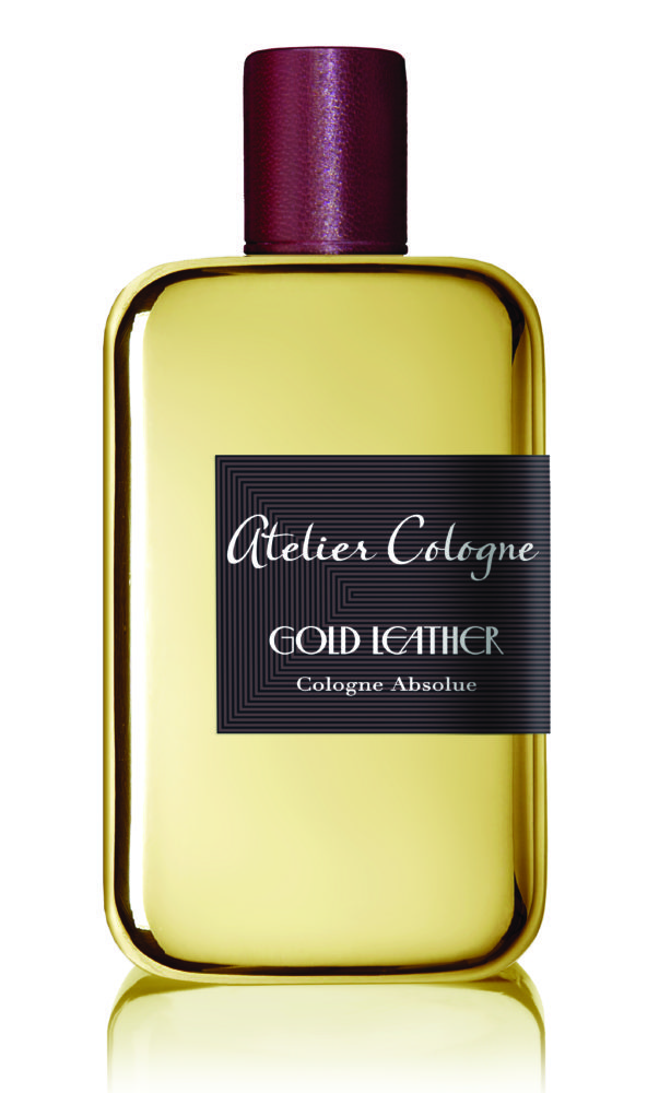 Atelier Cologne Gold Leather on My Lime Boots