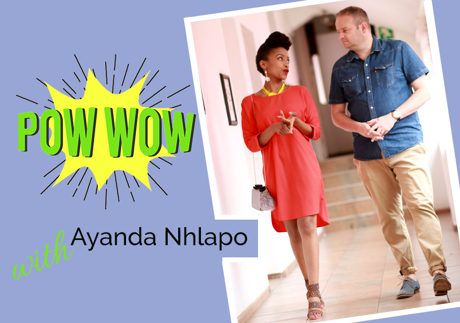 A Pow Wow With Ayanda Nhlapo on My Lime Boots