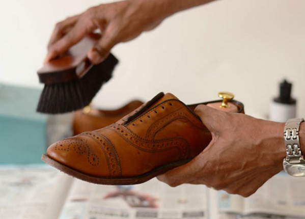 Stylish gentleman tip 2 well maintained shoes
