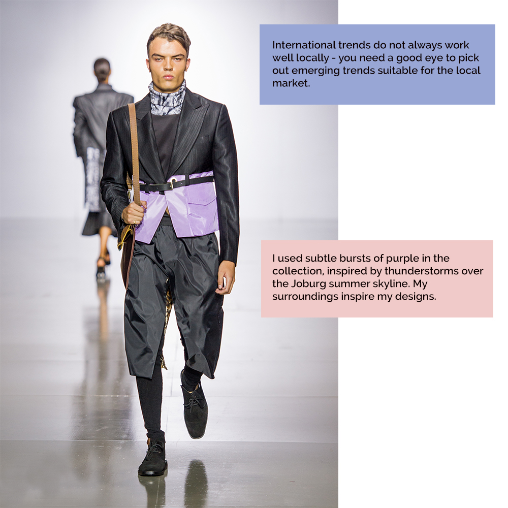 African trends in fashion from Augustine for Mercedes Benz Fashion Week Joburg