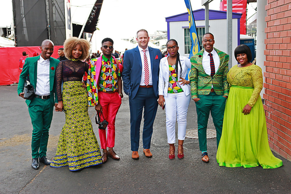 Fashionistas at the Durban July for Fashion Look Book