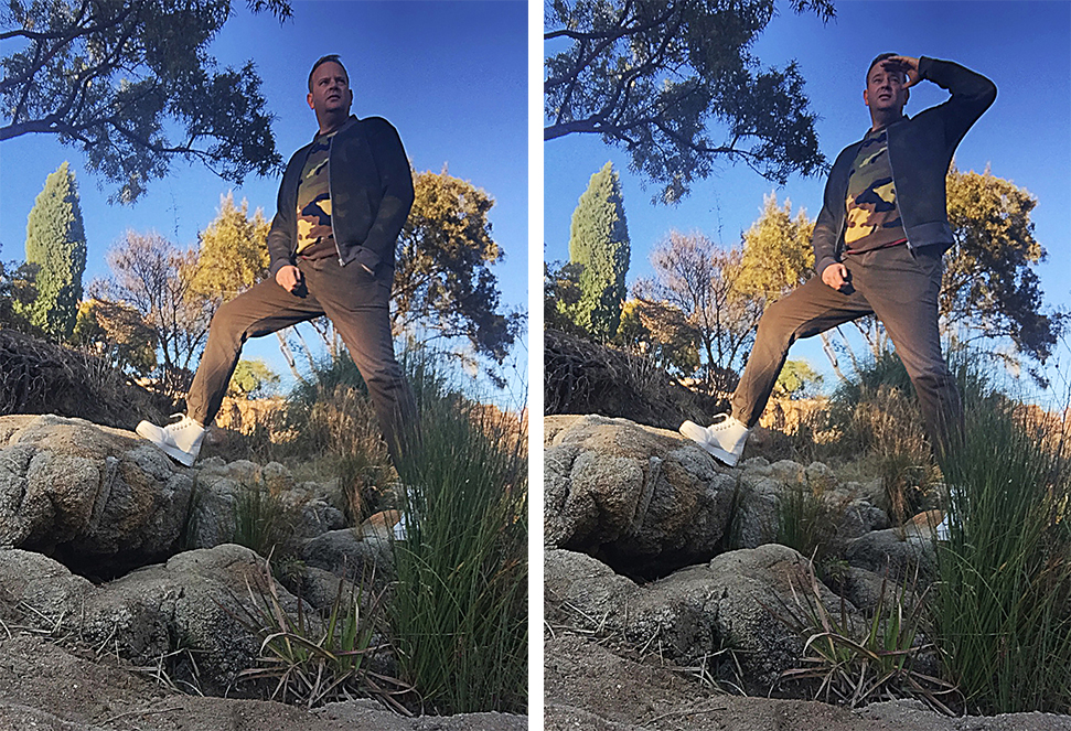 Standing on rocks in Paul of London from Zando for My Lime Boots