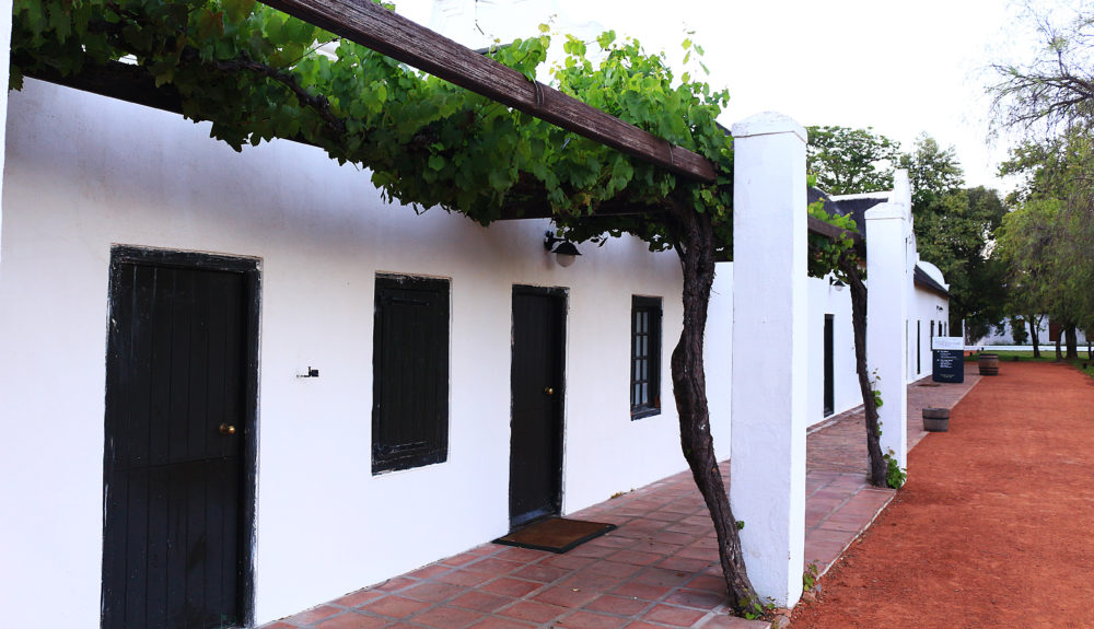 Outbuildings at Spier Wine Farm on My Lime Boots