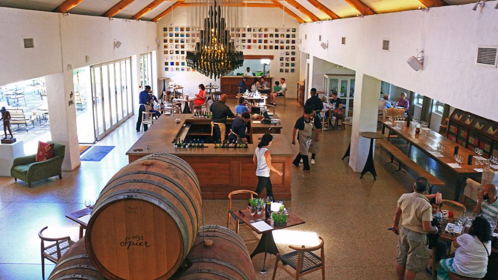 Spier Wine Farm Tasting Room on My Lime Boots