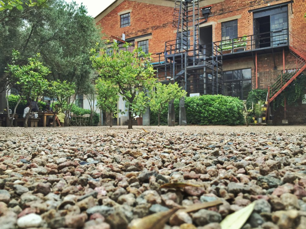 The Gravel at Market On Main on My Lime Boots