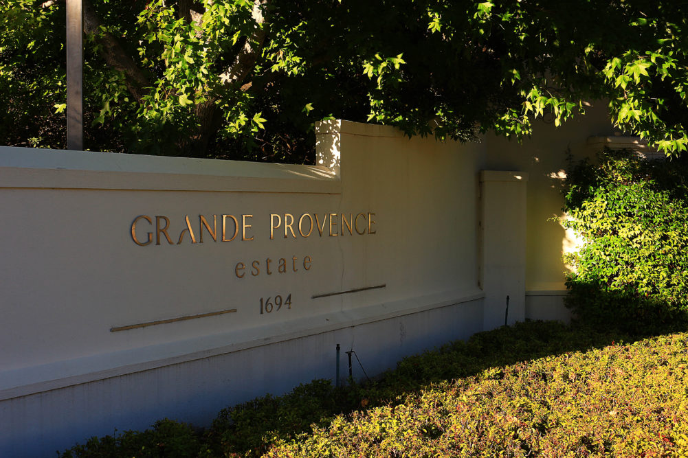 Grande Provence Entrance on My Lime Boots