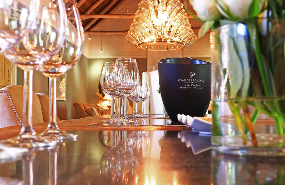 Dining at Jonkershuis at Grande Provence on My Lime Boots
