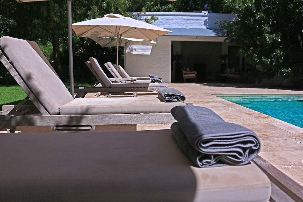 Pool at The Owners Cottage at Grande Provence on My Lime Boots