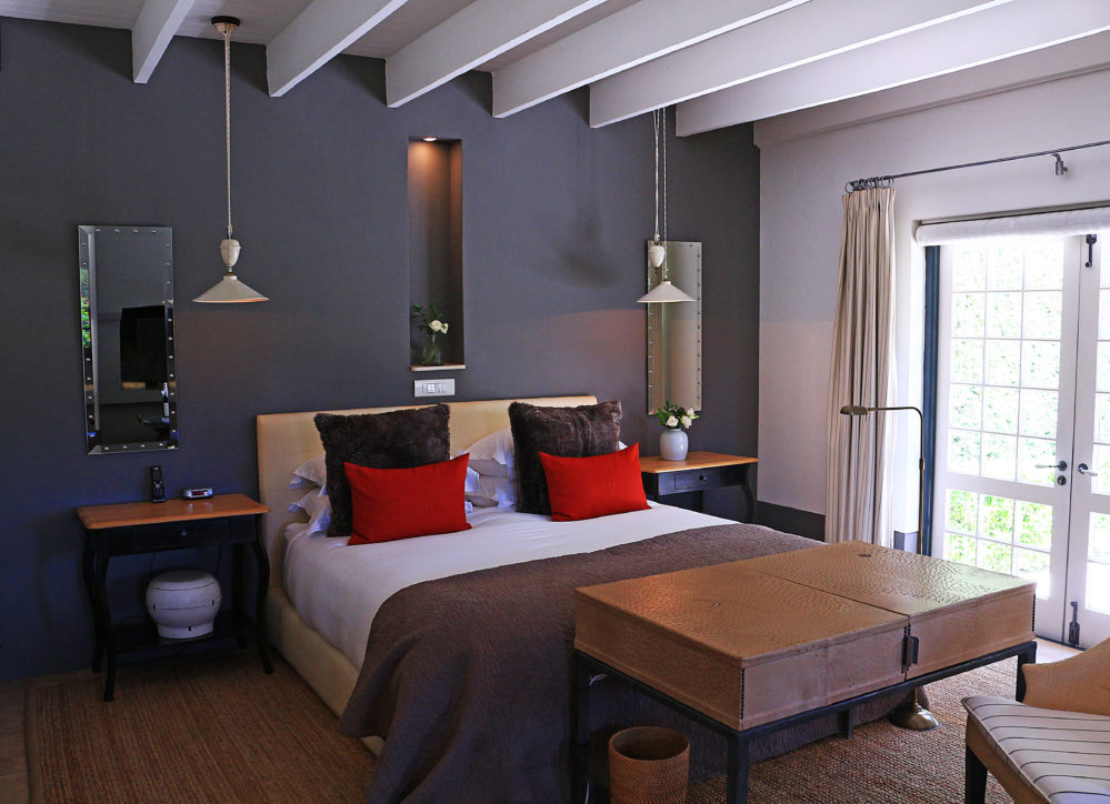 Owners Cottage Suite bedroom view on My Lime Boots