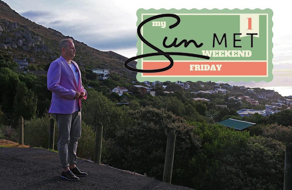 My SunMet Weekend Friday on My Lime Boots