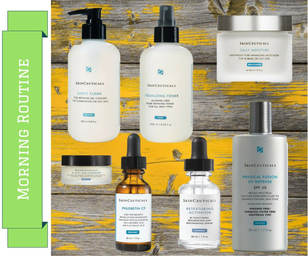 My SkinCeuticals Morning Routine on My Lime Boots