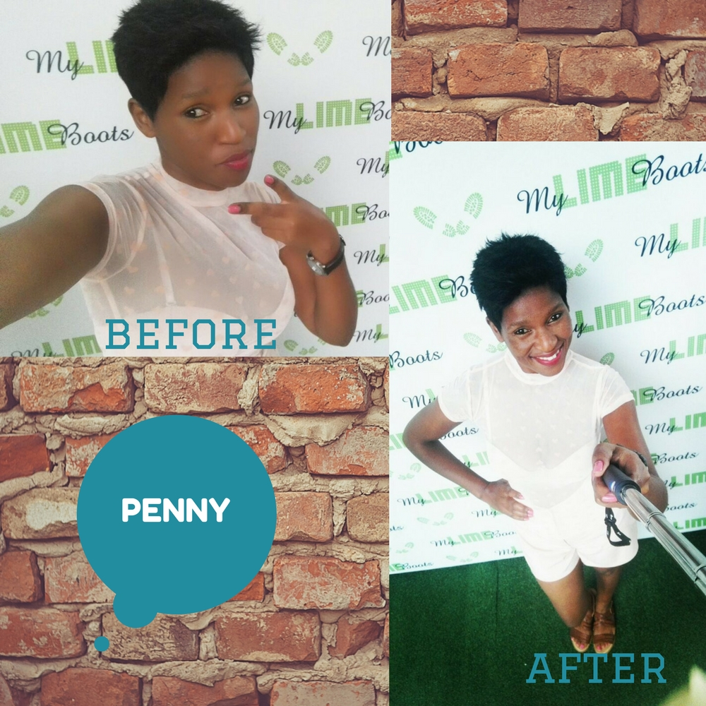 Penny on the great selfie shootout on My Lime Boots