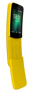 Nokia 8110 on My Lime Boots
