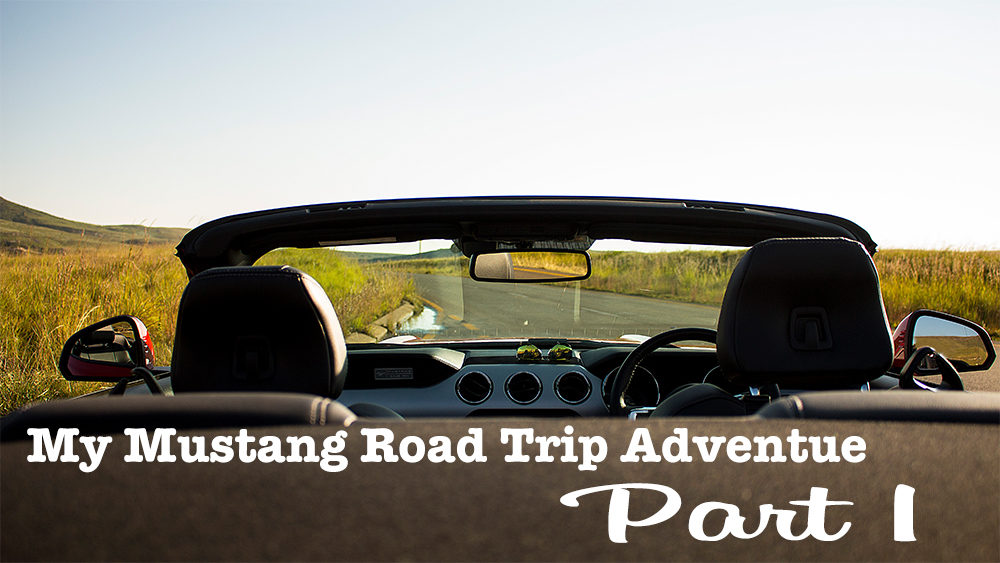 My Ford Mustang Road Trip Adventure Part 1 on My Lime Boots