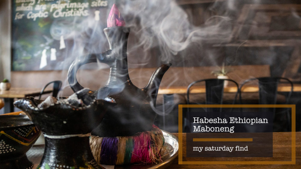 My Saturday Find Habesha Ethiopian Cuisine Maboneng on My Lime Boots