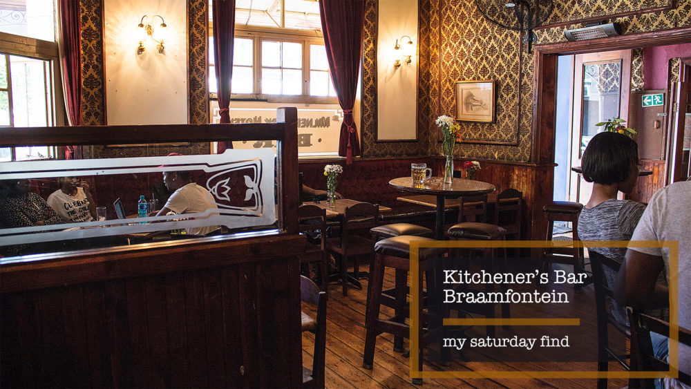 My Saturday Find Kitcheners Bar Braamfontein on My Lime Boots