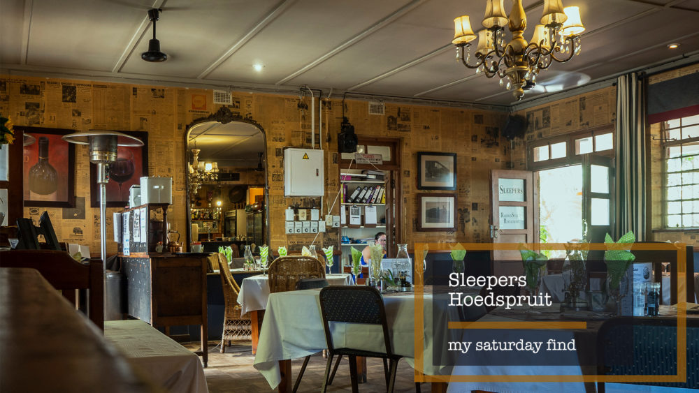 My Saturday Find Sleepers Railway Restaurant Hoedspruit on My Lime Boots