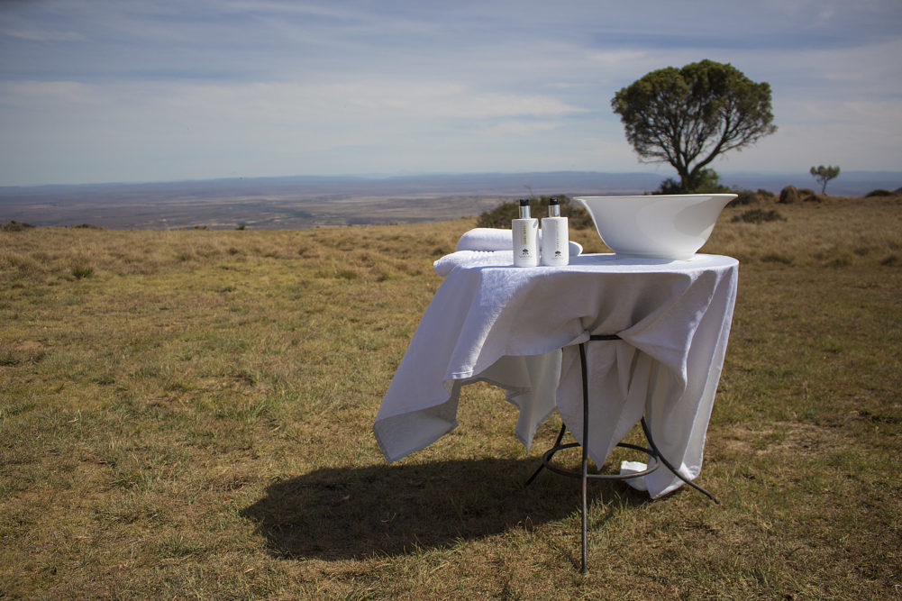 Preparing for lunch at the Samara Mara at Samara Private Game Reserve on My Lime Boots