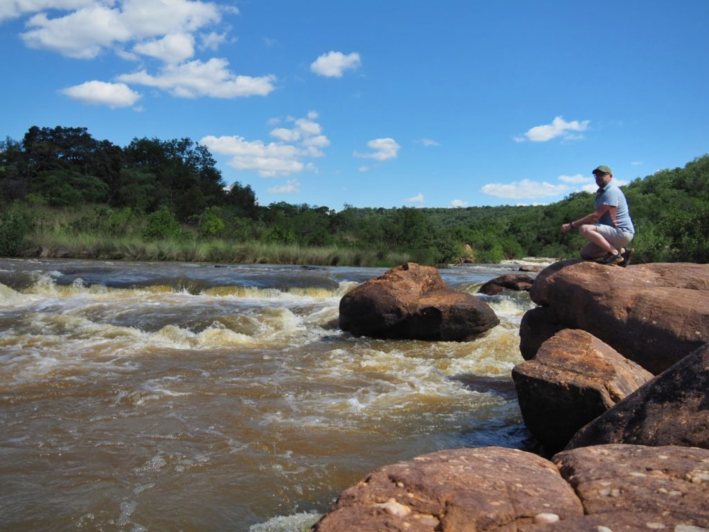 The mighty Palala River at Tintswalo Lapalala