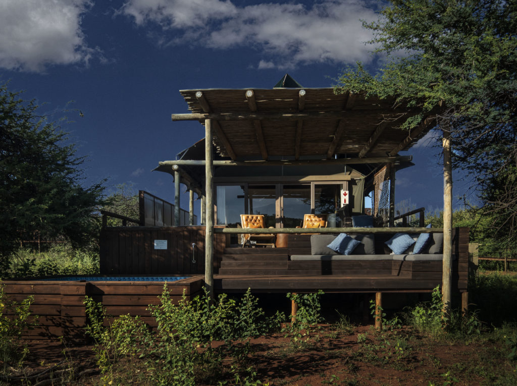 Private Tent with Plunge Pool at Tintswalo at Lapalala