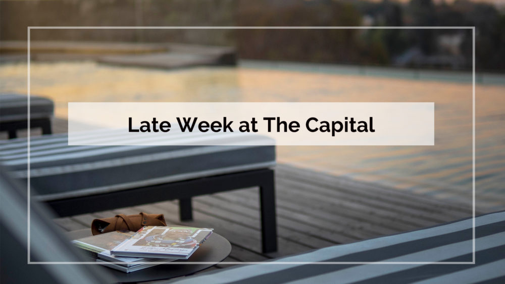 Late Week at The Capital on The Park in Sandton Johannesburg
