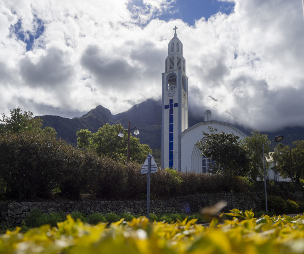 Church of Notre Dame des Neiges in Cilaos on Reunion Island