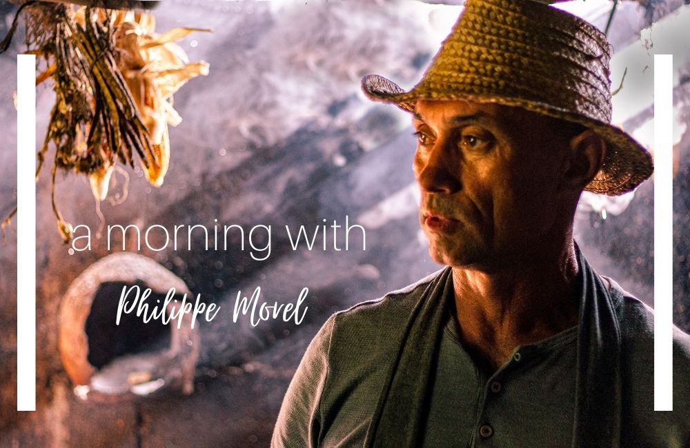 A morning with Philippe Morel on Reunion Island