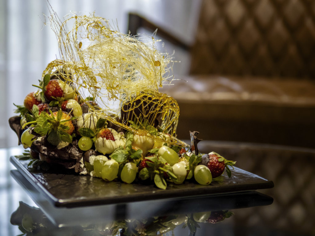 Fruit and chocolate welcome at The Capital Melrose