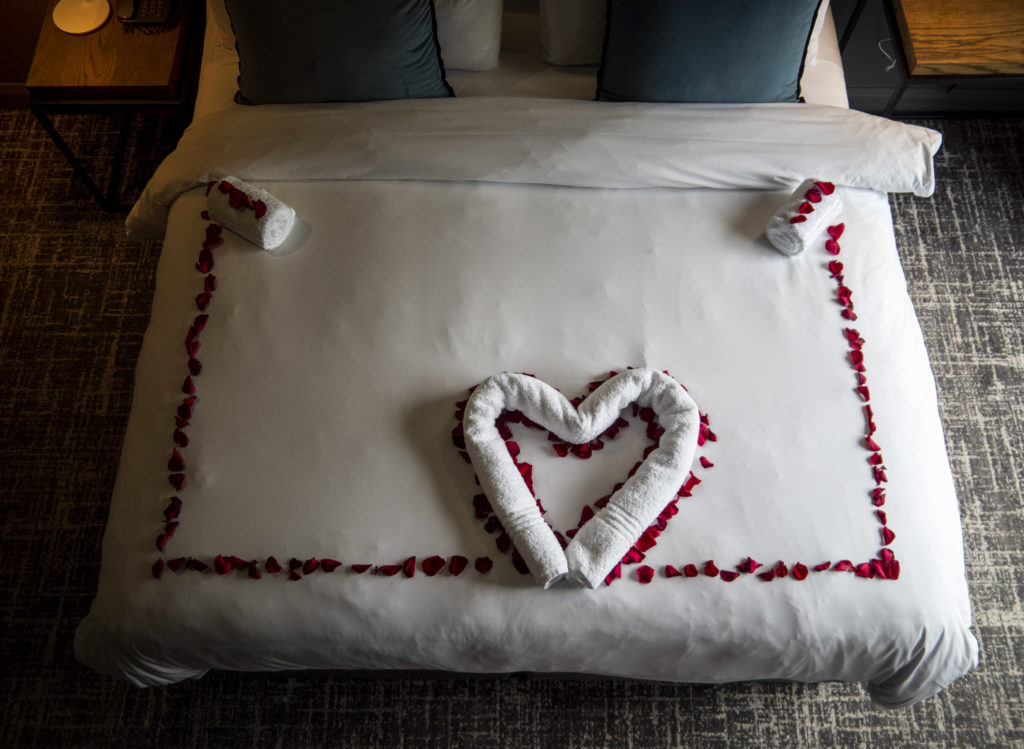 Valentines Turndown at The Capital Melrose