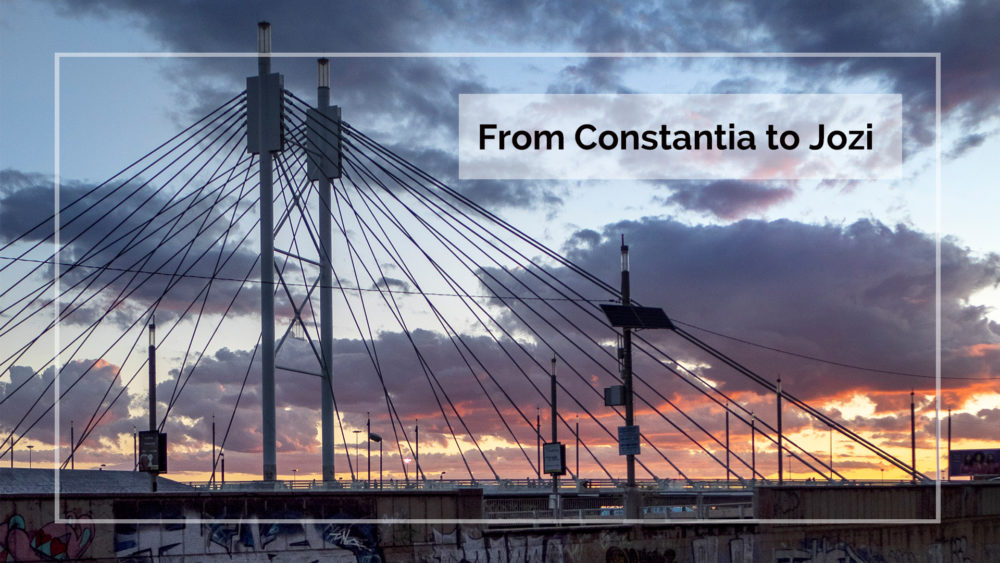 From the Constantia Valley to Johannesburg with Groot Constantia