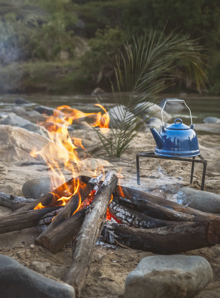 Beach Stop at Babanango Game Reserve in Zululand